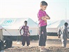 �ivot si zachr�nili. Spousta obyvatel ir�ck�ho Mosulu na�la azyl v uprchlick�ch...