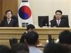 Soudní proces s posádkou ztroskotaného trajektu Sewol.