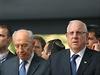 NOv� izraelsk� prezident Reuven Rivlin (vpravo) na archivn�m sn�mku ze ��jna...