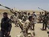 Iráčtí vojáci v provincii Dijála.