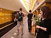 V Praze se po dvou letech otevřela zrekonstruovaná stanice metra B Národní...