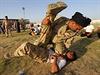 Irácká armáda cvičí nové rekruty.