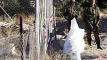 Izrael�t� voj�ci u m�sta Hebron na Z�padn�m b�ehu Jord�nu