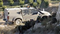 Izrael�t� voj�ci kontroluj� Z�padn� b�eh Jord�nu