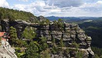 Národní p�írodní památka Prav�ická brána se nachází na území Národního parku... | na serveru Lidovky.cz | aktu�ln� zpr�vy