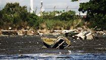 Z�toka Guanabara nedaleko m�sta, kde by se m�li jet olympijsk� z�vody.