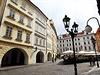 Blok domů na Malém náměstí, který bude nyní Praha pronajímat...