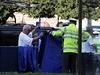 Řidič osobního auta BMW v úterý nad ránem srazil a zabil na pražském na náměstí Kinských jednadvacetiletou dívku