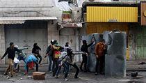 Mladí Palestinci v Gaze. | na serveru Lidovky.cz | aktu�ln� zpr�vy