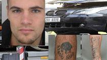 Marek P��ek, �idi� BMW, kter� srazil a vozem usmrtil jednadvacetiletou d�vku na...