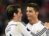 Gareth Bale (vlevo) a Cristiano Ronaldo. | na serveru Lidovky.cz | aktu�ln� zpr�vy