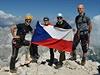Na vrcholu slovinského Triglavu se ty�í také �eská vlajka | na serveru Lidovky.cz | aktu�ln� zpr�vy