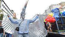 17 tis�c lid� pochodovalo Prahou za toleranci