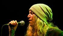 Hv�zdou p�edposledn�ho ve�era festivalu Trutnoff byla americk� zp�v�ka Patti Smith.