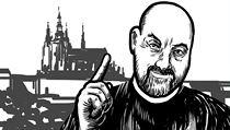 Tomá� Halík na Hrad? Ilustrace Richard Cortés. | na serveru Lidovky.cz | aktu�ln� zpr�vy