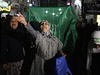 Palestinky oslavují začátek příměrí