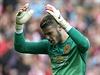 Branká� Manchesteru United David de Gea se zlobí b�hem utkání se Sunderlandem. | na serveru Lidovky.cz | aktu�ln� zpr�vy