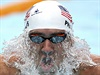 Michael Phelps na Panpacifických hrách.