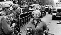 Invaze sovětských vojsk do Československa v srpnu 1968.