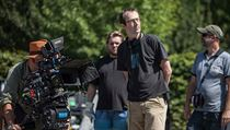 Režisér Petr Zelenka při natáčení filmu Ztraceni v Mnichově