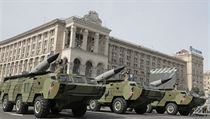 Ukrajina oslavila Den nez�vislosti. V Kyjev� prob�hla vojensk� p�ehl�dka