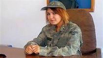 Kl��ovou podez�elou ve �pion�n�m skand�lu byla 25let� Narin Korkmazov�.