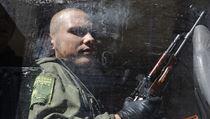 Ozbrojen� separatista v Don�cku.