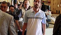 Novin�� James Foley na sn�mku z roku 2011
