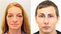 Petra Bro�ov� a Ji�� Kun�ara, kter� policie podez��v� z rozs�hl�ch podvod� p�i...