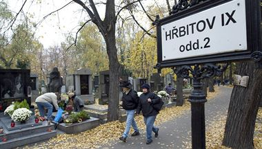 Odpad z pra�ských h�bitov� se svá�í na Ol�anské h�bitovy. (Ilustra�ní foto) | na serveru Lidovky.cz | aktu�ln� zpr�vy