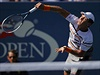 Tom� Berdych na US Open.