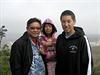 Držený Kenneth Bae. Na snímku se svými dětmi, dcerou Natalií a synem Jonathanem