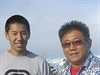 Kenneth Bae a jeho syn Jonathan