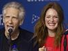 Režisér David Cronenberg a herečka Julianne Moore představili v Torontu svůj nový film Maps to the Stars (Mapy ke hvězdám).