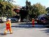 Nehoda se stala okolo 22:00 na vyloučené koleji, kde probíhaly stavební práce. Po srážce vykolejila lokomotiva rychlíku.