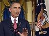 """""""Dal jsem jasně najevo, že dopadneme teroristy, kteří ohrožují naši zemi, ať jsou kdekoli,"""" řekl Obama v projevu."""