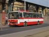 Karosa B731 na trase v pražských Vysočanech.