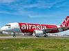 Letadlo A320 společnosti Air Asia.