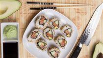 Sushi (ilustra�n� foto)