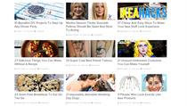 Seznamy a h�danky v titulc�ch internetov�ch �l�nk�. Zde na str�nce Buzzfeed.com.