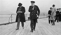 Lord Beaverbrook (vlevo) a Winston Churchill. | na serveru Lidovky.cz | aktu�ln� zpr�vy