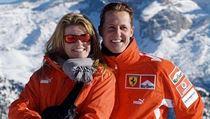 Corrina Schumacherová a Michael Schumacher.