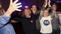 Skotsko z�stane v Brit�nie. Zast�nci svazku z�skali 54 procent