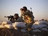 Kurdští pešmergové bojují proti Islámskému státu.