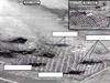 Před a po leteckých úderech: satelitní snímky zachycují místa, kam dopadly spojenecké bomby.