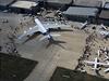 Největší dopravní letoun světa Airbus A 380 na Airshow v Istanbulu.