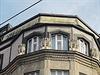 Horní partie domu Diamant, �. p. 82/II, na náro�í Spálené a Lazarské ulice v... | na serveru Lidovky.cz | aktu�ln� zpr�vy