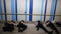 Ochromen� Hongkong: Demonstranti zaplavili m�sto