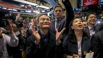 Jack Ma na burze.