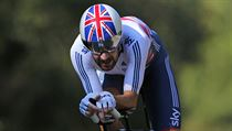 Britský cyklista Bradley Wiggins.